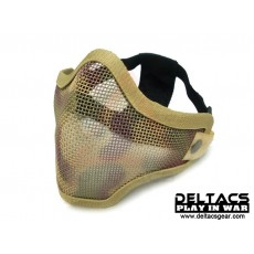 Deltacs CM01 Metal Mesh Lower Half Mask - Desert